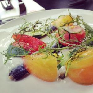 Sardine marinées et tomates anciennes - le BAT